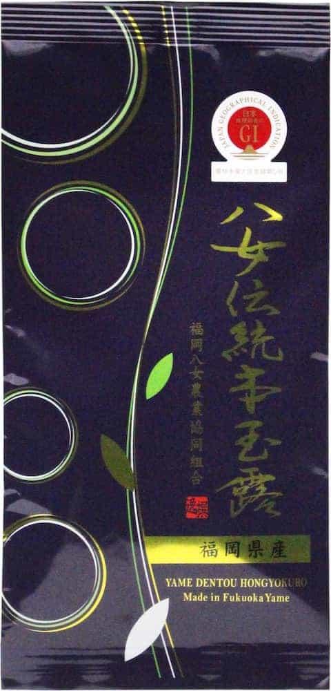 ja 福岡 八女 お茶 玉露 八女茶 伝統本玉露 1