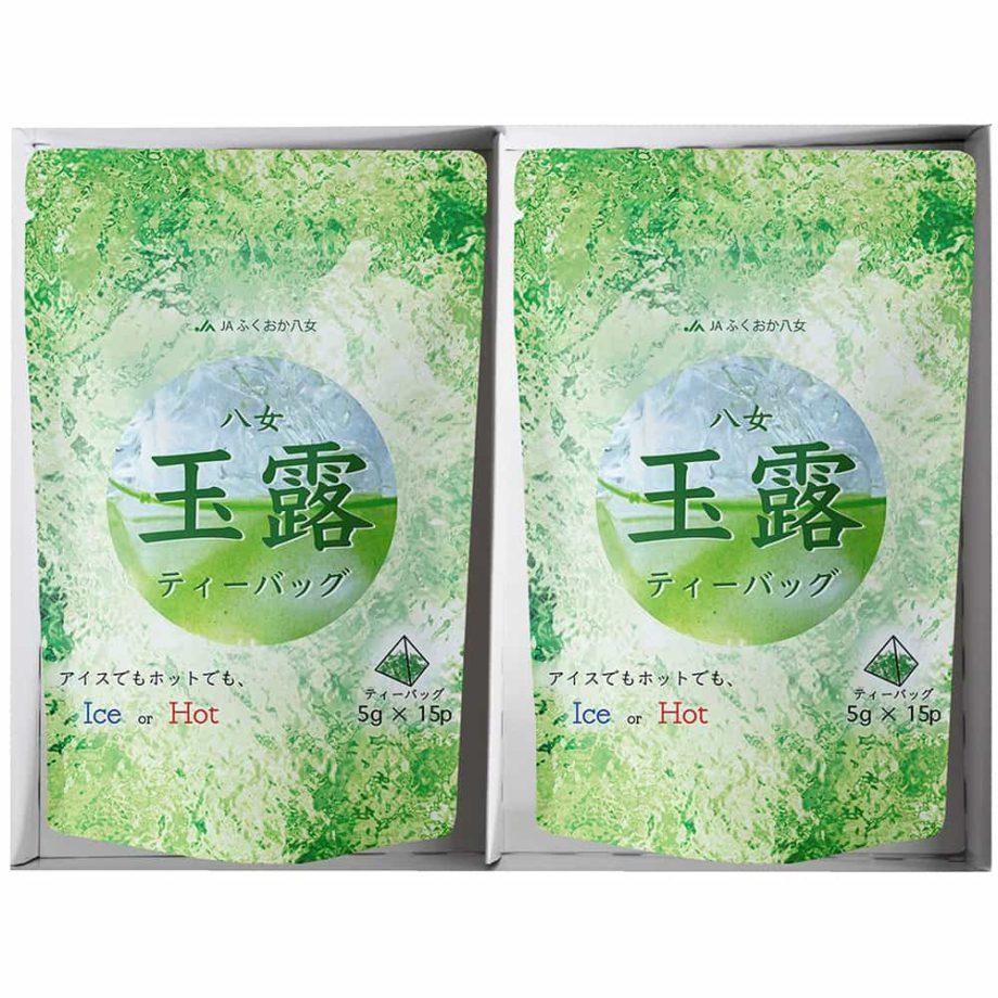 ティーバッグ お茶 煎茶 ギフト お中元 夏 玉露 夏 おすすめ 緑茶 4