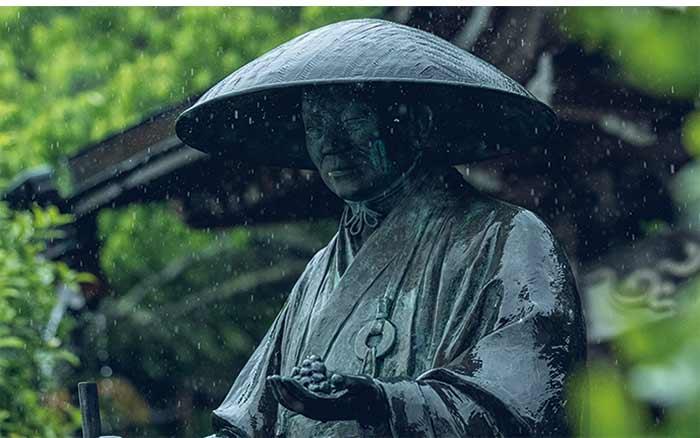 霊巌寺 栄林周瑞禅師 1423 お茶 農家 八女茶 歴史 健康 歴史 立地