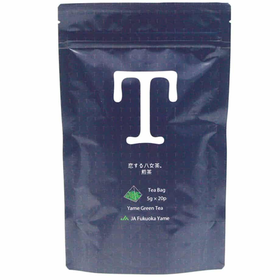 恋する八女茶 煎茶 ティーバッグ 紺色 ネイビー 八女茶 日本茶 JA ふくおか 八女 おいしい 健康 お茶 1