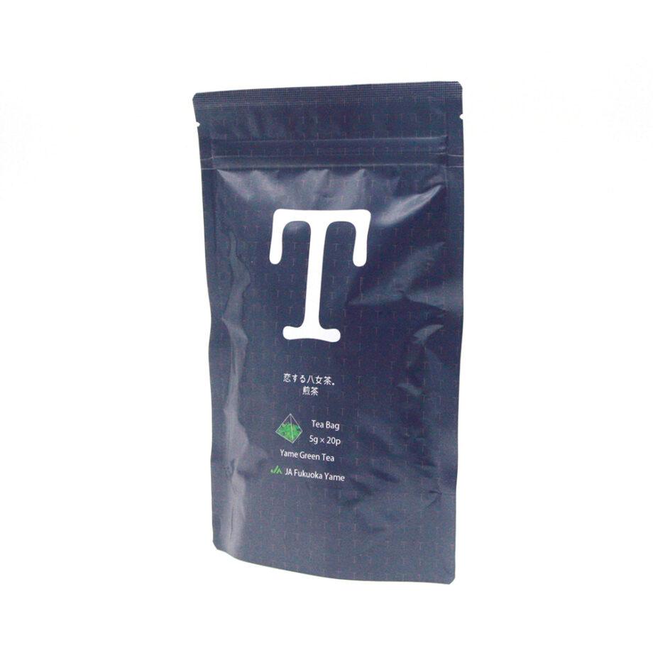 恋する八女茶 煎茶 ティーバッグ 紺色 ネイビー 八女茶 日本茶 JA ふくおか 八女 おいしい 健康 お茶 2