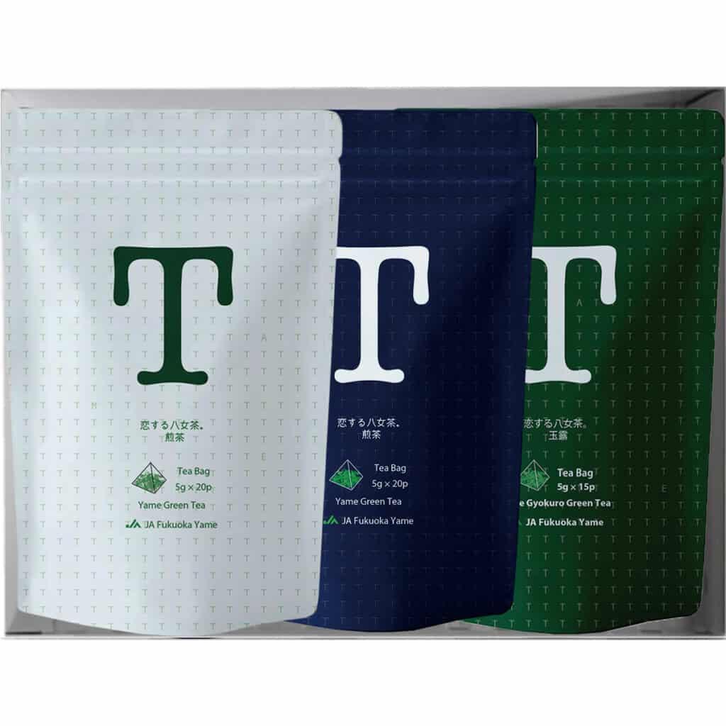 恋する八女茶 八女茶 日本茶 緑茶 ティーバッグ 美味しい 煎茶 玉露 手軽 簡単 淹れ方