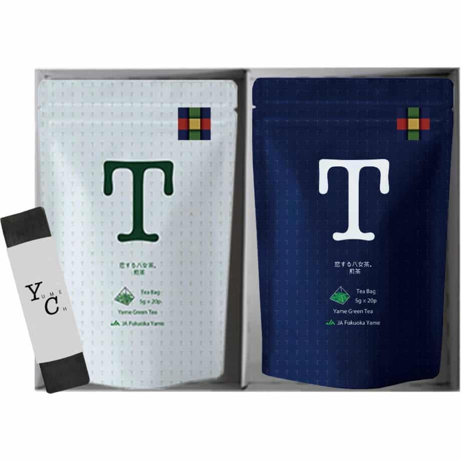 恋する八女茶 煎茶 玉露 ギフト セット JAふくおか 八女 お茶 日本茶 緑茶 1