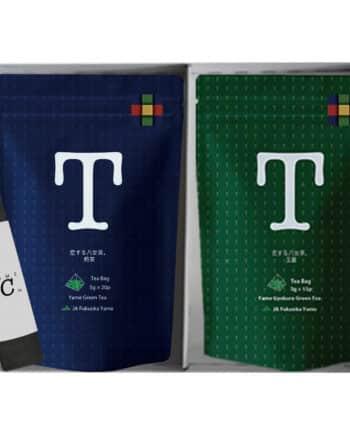 恋する八女茶 煎茶 玉露 ギフト セット JAふくおか 八女 お茶 日本茶 緑茶 2