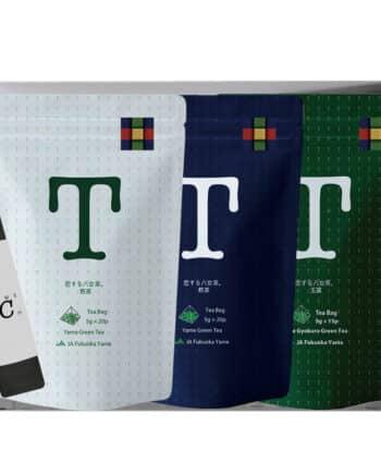 恋する八女茶 煎茶 玉露 ギフト セット JAふくおか 八女 お茶 日本茶 緑茶 5